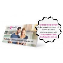 Love My Health - Lifestyle Genetic Test + Virtual Coaching Session with Eva Redpath